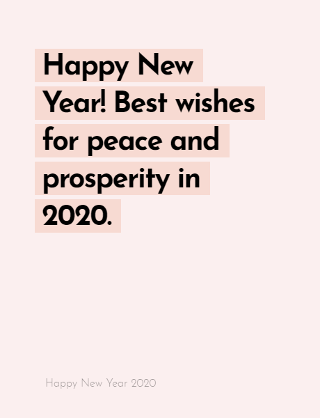 Happy New Year 2020 Wishes Quotes, Happy new year inspiration night 2020, wishes, messages & greetings 3