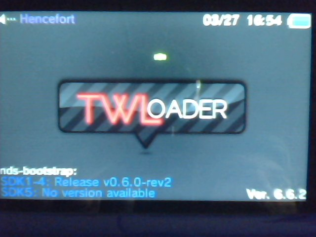 HO+TUTO] TWiLight Menu++: Carga de backups de Nintendo DS desde CFW