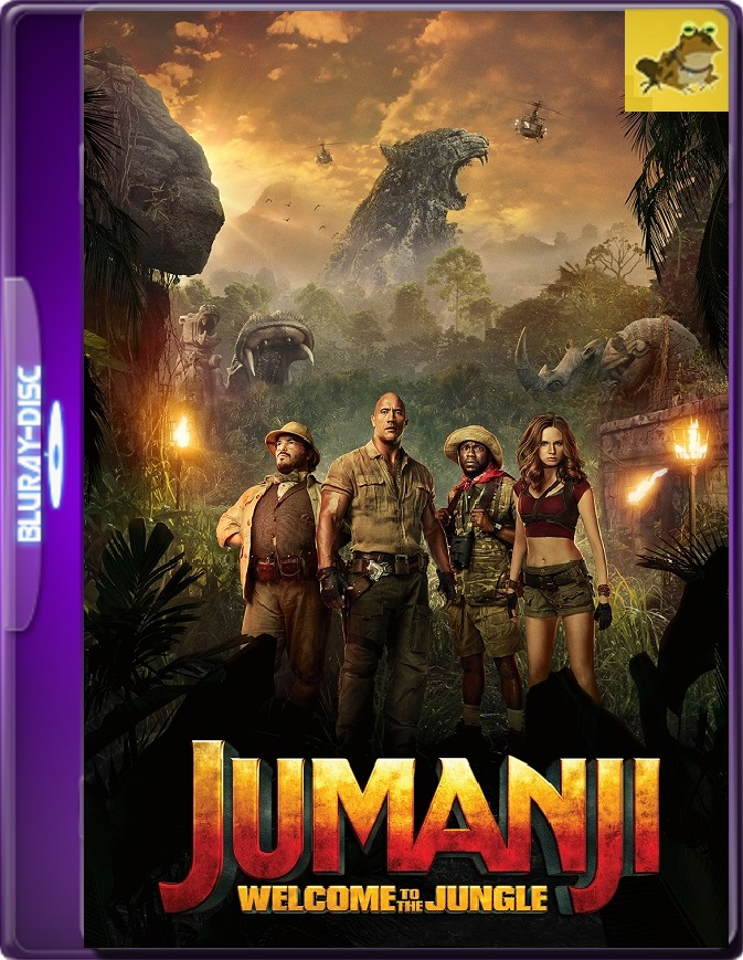 Jumanji: En La Selva (2017) Brrip 1080p (60 FPS) Latino / Inglés