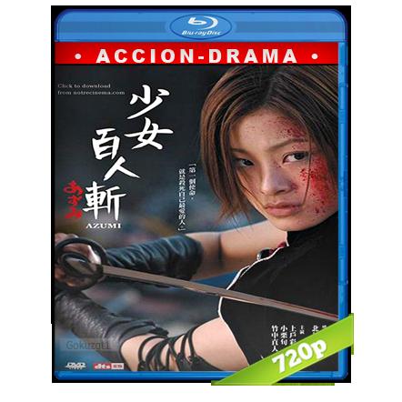 descargar Azumi 720p Jap-Subs[Accion](2003) gartis