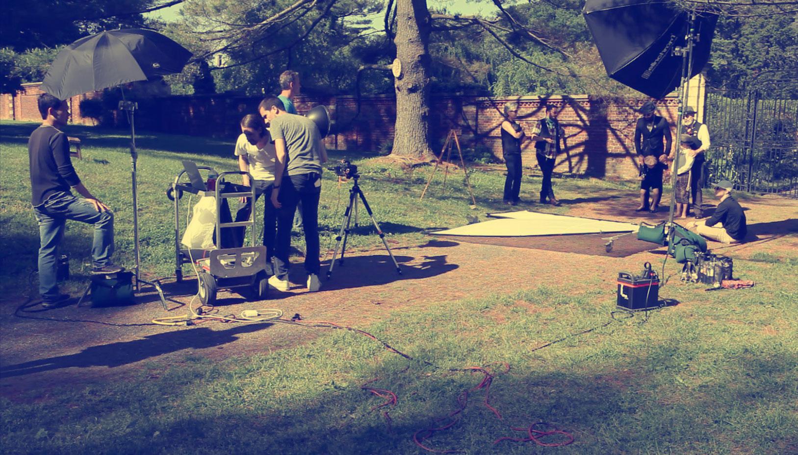 behind the scenes / Royal Misfits / Oxana, Sasha, Gianluca, Michael Novick, Susannah Bianchi, Land Grant, Grey Bazzani Grant by Daniel Castro