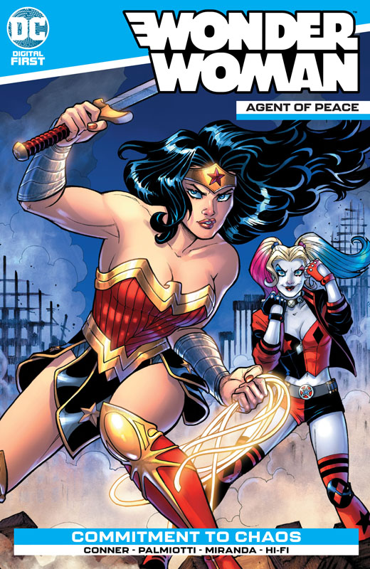 Wonder Woman - Agent of Peace #1-12 (2020)