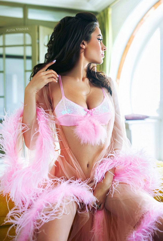 Любительница розового / Диана Берберашвили, фотограф Алиса Вернер / фото 03