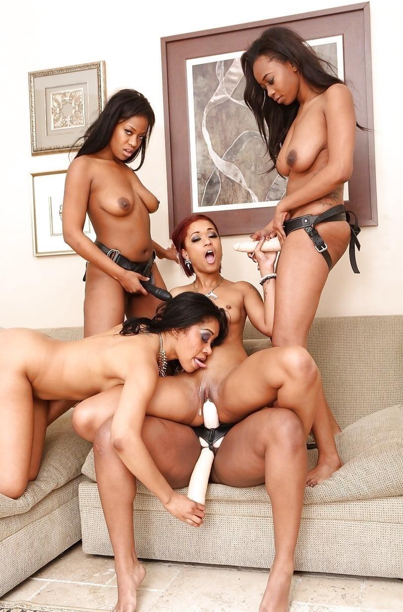 Black lesbian squirting orgy-3691
