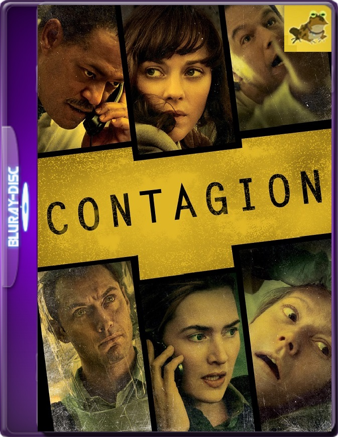 Contagio (2011) Brrip 1080p (60 FPS) Latino / Inglés