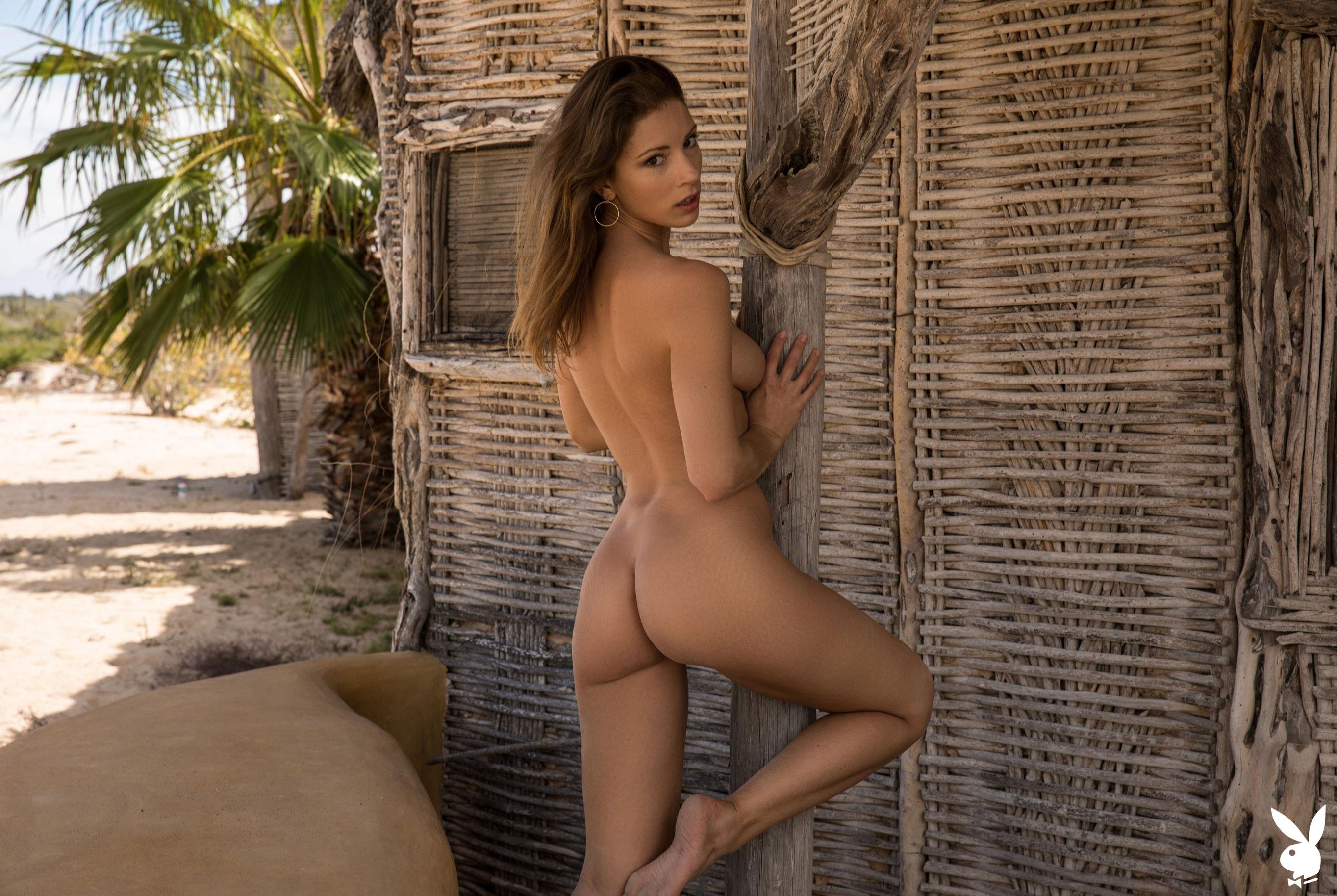 Отдыхаем на мексиканском пляже с сексуальной моделью Playboy / фото 17