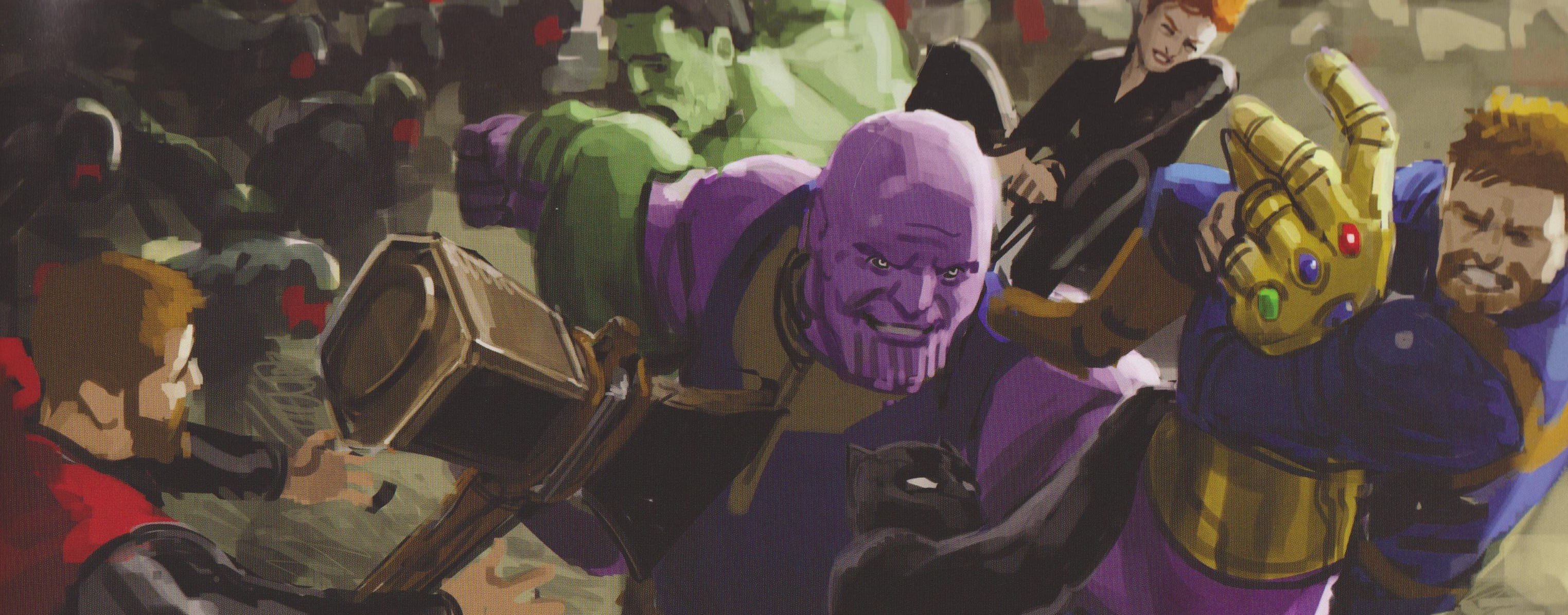 AVENGERS: INFINITY WAR Hi-Res Concept Art Features An
