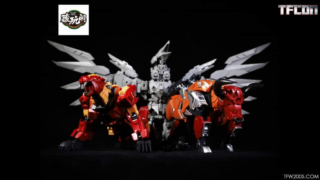 [Cang Toys][Toyworld] Produit Tiers - Thunderking/Chiyou - aka Predaking/Prédaroi (Prédacons) - Page 3 G8TarMnw_o