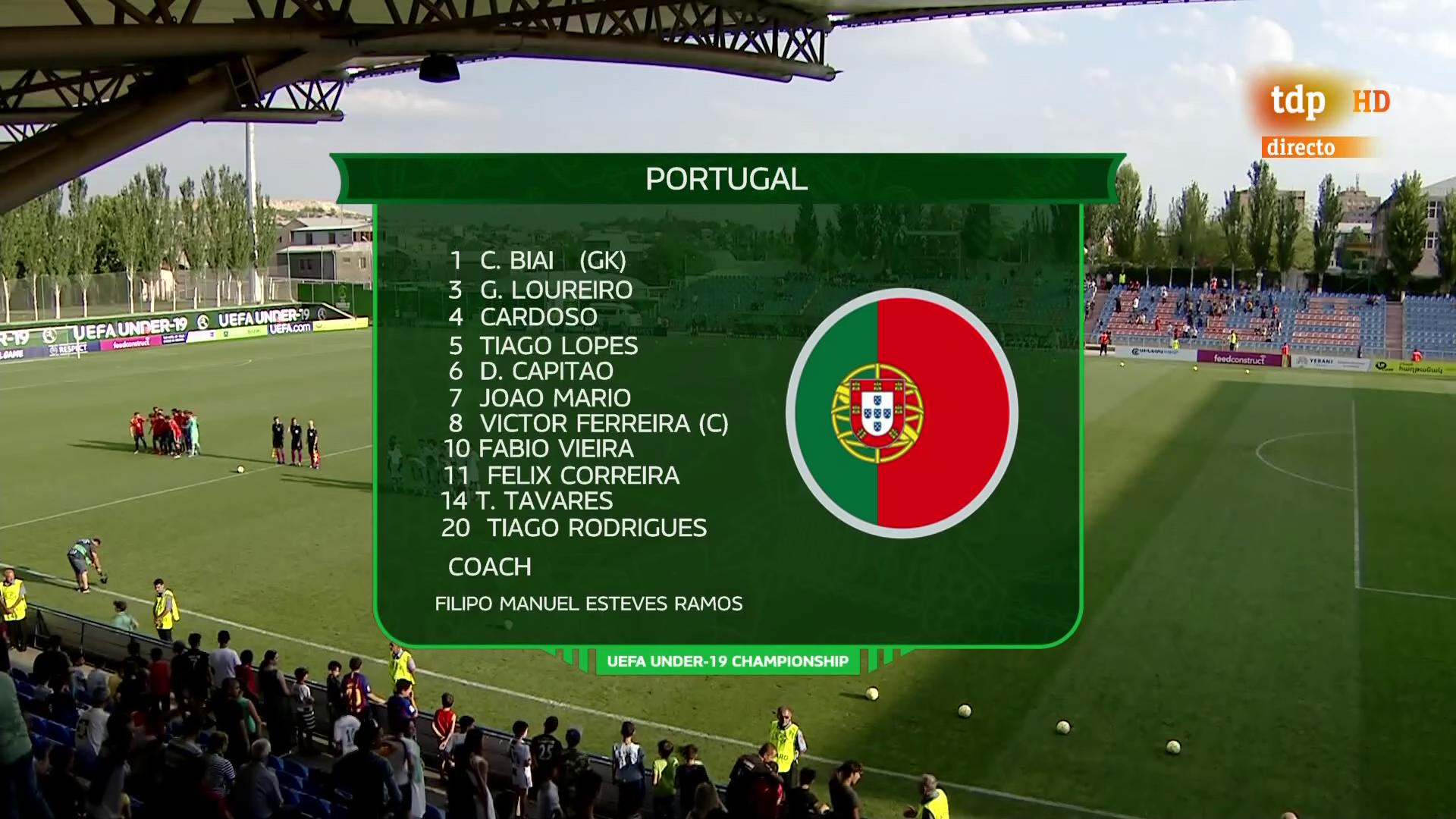 portugal vs spain u19