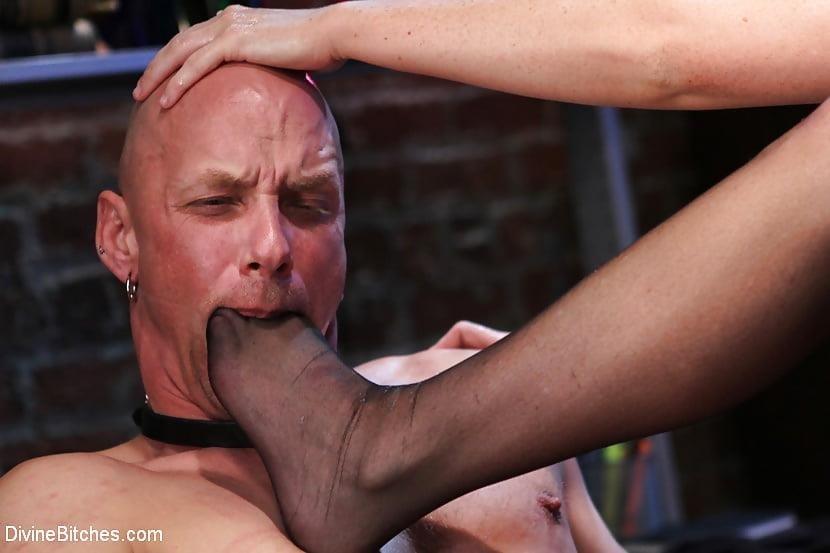 Extreme foot femdom-6939