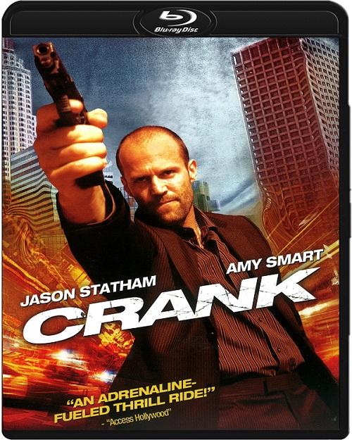 Adrenalina / Crank (2006-2009) MULTi.720p.BluRay.x264.DTS.AC3-DENDA / LEKTOR i NAPISY PL
