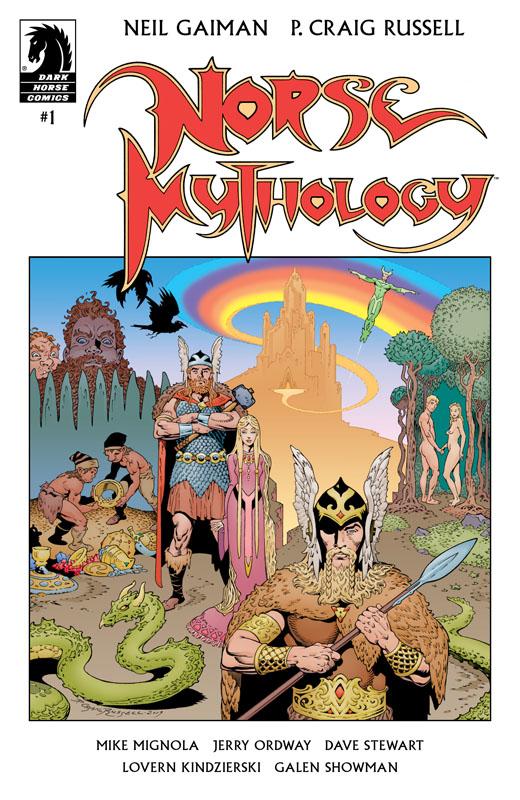 Norse Mythology #1-4 (2020-2021)