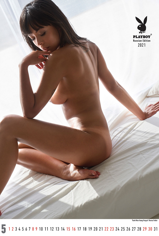 Эротический календарь журнала Playboy Россия на 2021 год / май / Thanh-Nhan Hoang