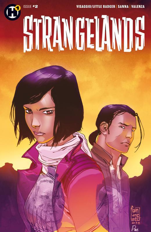 Strangelands #1-4 (2019)