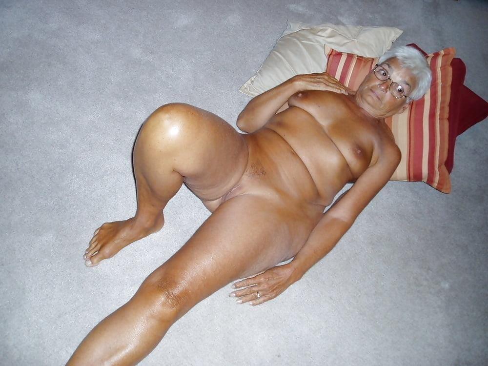 Chubby granny naked-9546