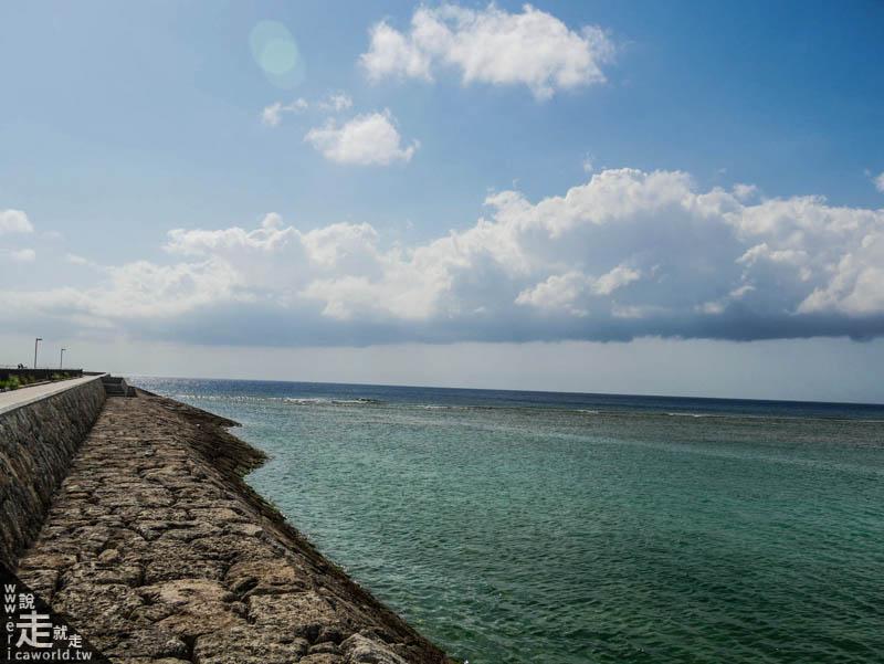 沖繩 宮城海岸 砂边