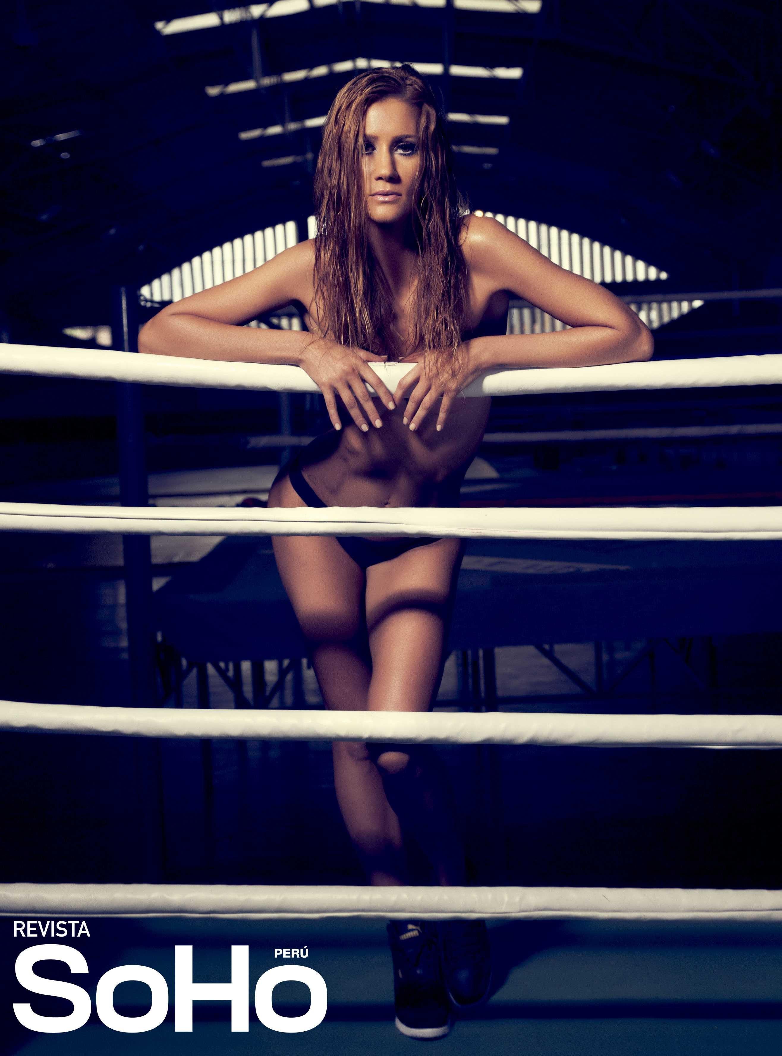 аргентинско-перуанская спортивная фанатка, модель и телеведущая Рохио Гомес / Rocio Gomez