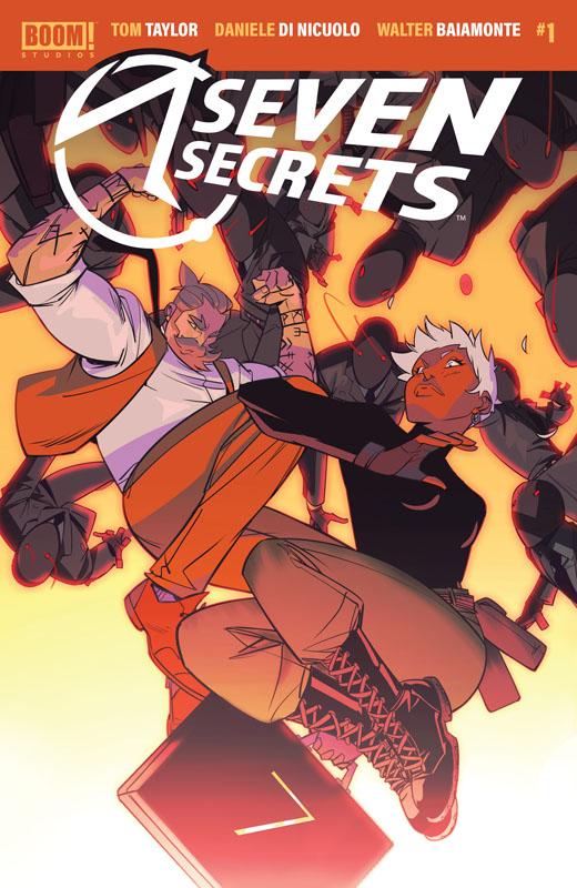 Seven Secrets #1-4 (2020)
