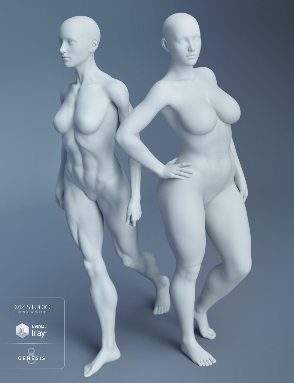 Genesis 8 Female Body Morphs