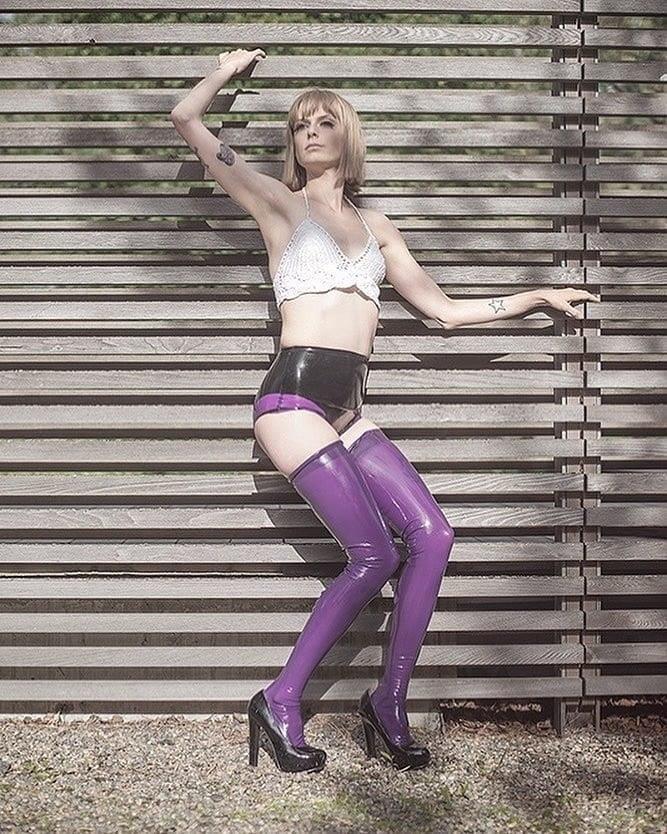 Latex stockings porn pics-6065