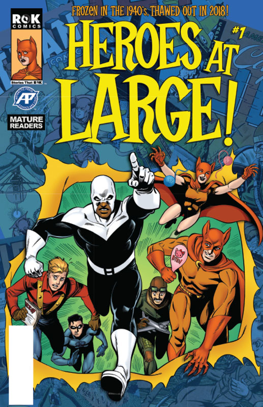 Heroes At Large! #1-2 (2018-2019)