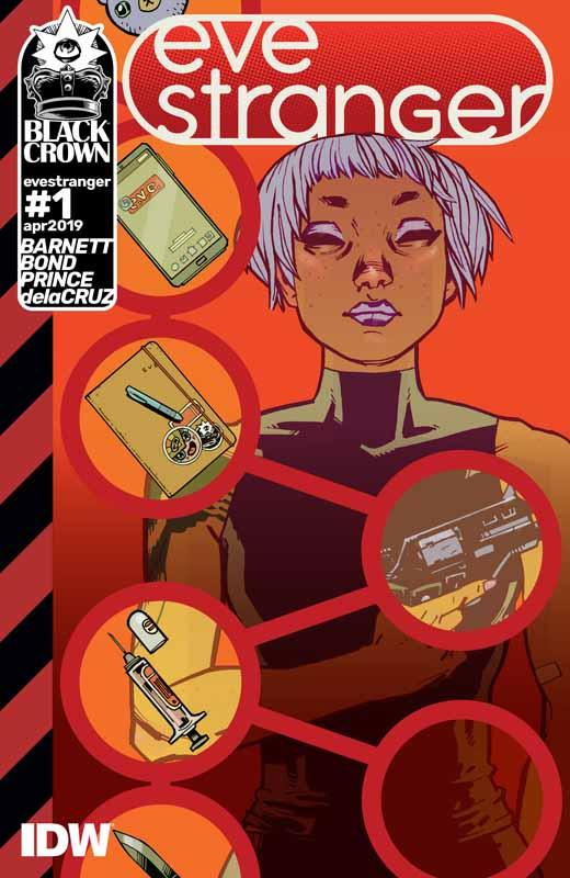 Eve Stranger #1-4 (2019)