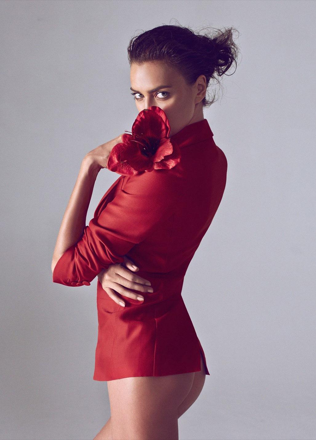 Irina Shayk by Koray Birand / Harpers Bazaar China march 2015