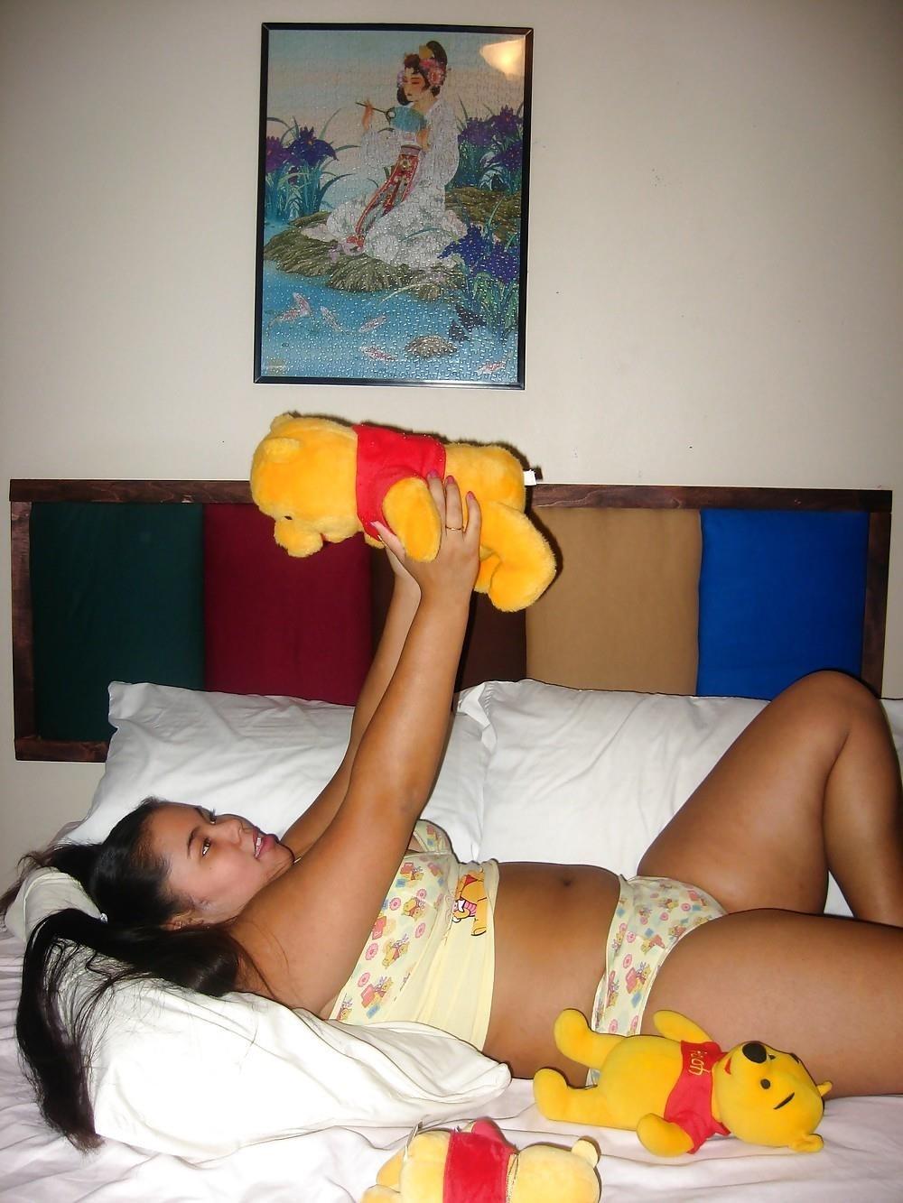 Winnie the pooh doll-6862