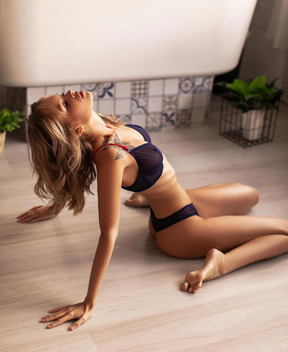Анастасия Щеглова в нижнем белье торговой марки MissX / фото 26