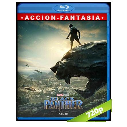 Pantera Negra 720p Lat-Cast-Ing[Ficcion](2018)