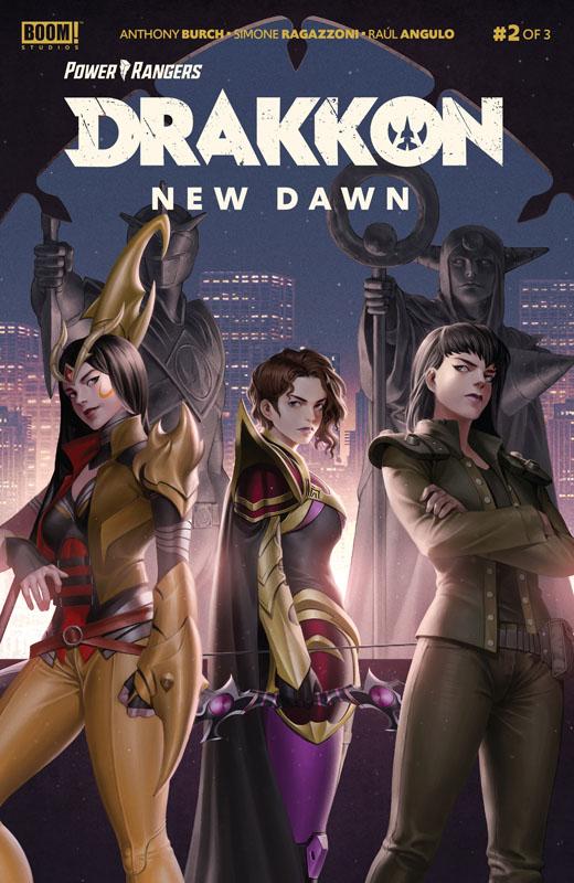 Power Rangers - Drakkon New Dawn #1-2 (2020)