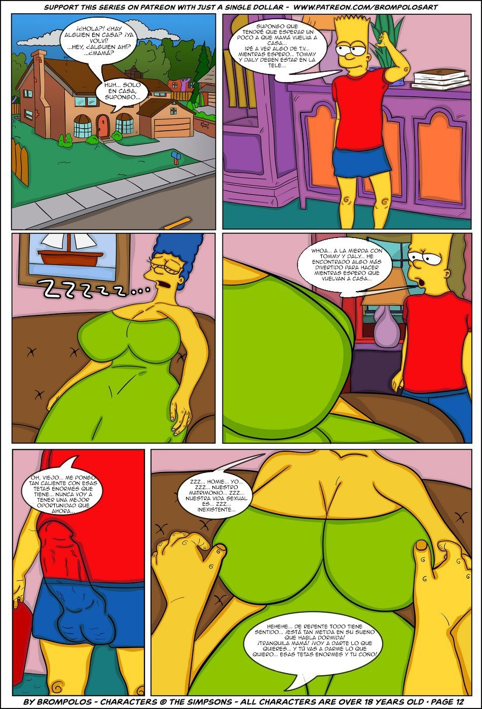 The Simpsons are The Sexenteins - 14