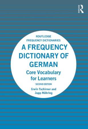 A Frequency Dictionary Of German - Core Vocabulary FoLearner