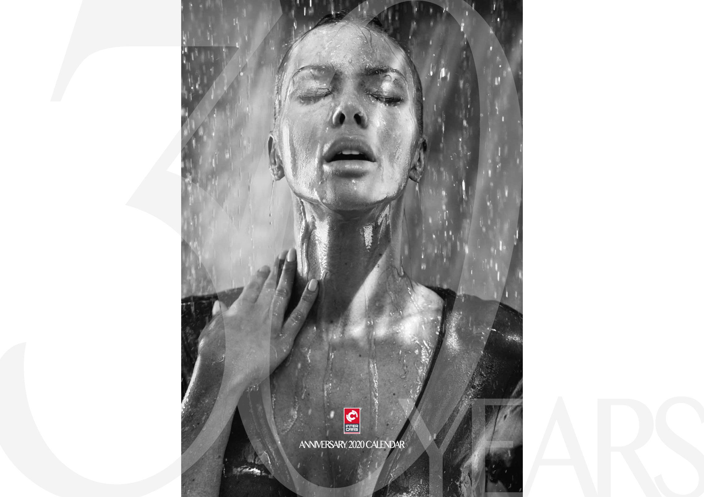 Сексуальные фотомодели в эротическом календаре Inter Cars 2020 / обложка