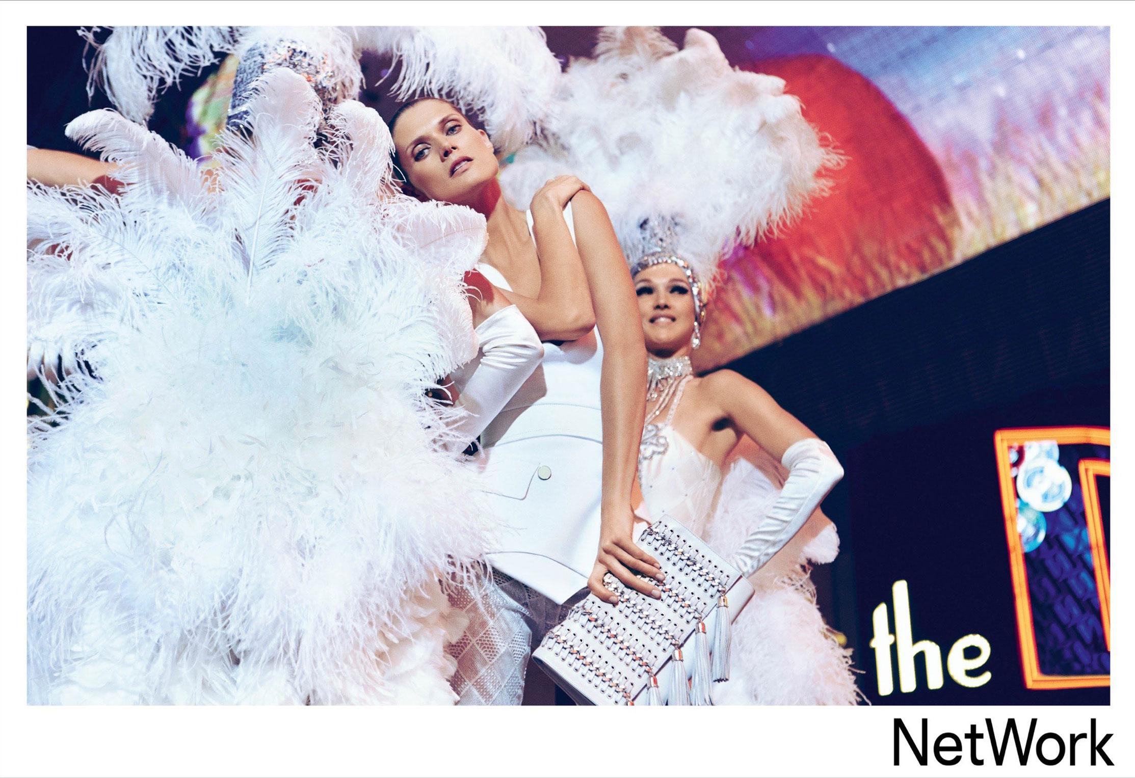 супермодель Малгоша Бела в рекламной кампании турецкого модного бренда Network, сезон весна-лето 2015 / фото 07