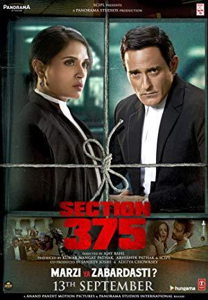 Section 375 - 2019 WebRip Hindi 720p x264 AAC 5 1 ESub - mkvCinemas