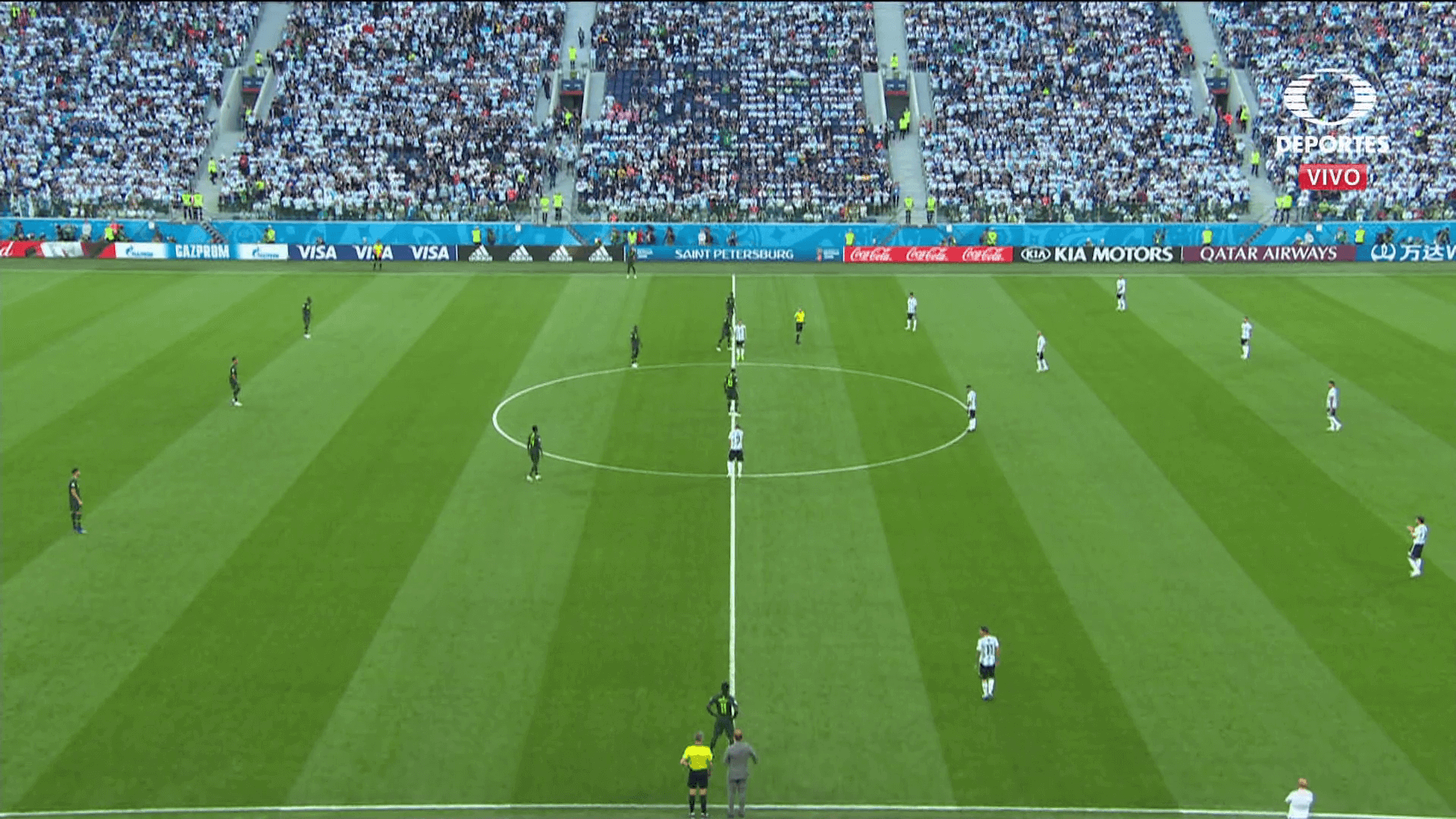 partido Nigeria vs Argentina imagenes