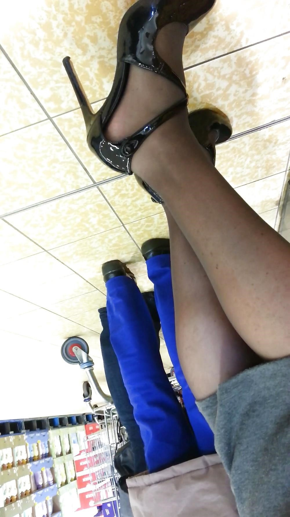Blonde milf pantyhose-4274