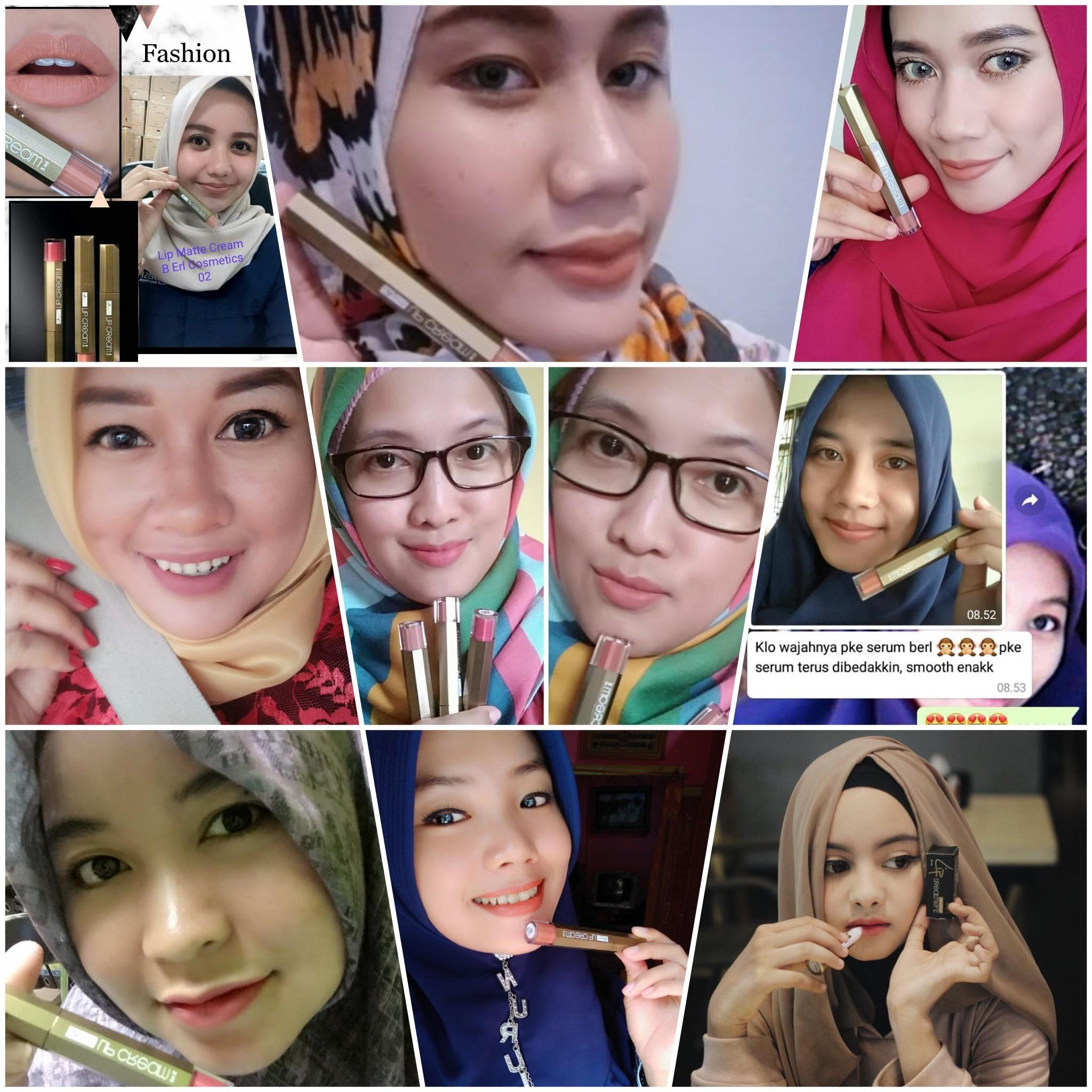 Lipstik Premium Murah B Erl Beauty Center Matte Lip Cream Produk Ini Sudah Tersebar Di Seluruh Indonesia Bahkan Negara Tetangga Dan Mereka Puas Sekali Dengan Hasilnya Mengakui Bahwa Lebih