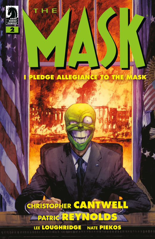 The Mask - I Pledge Allegiance to the Mask #1-4 (2019-2020) Complete
