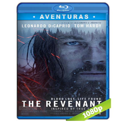 Revenant El Renacido 1080p Lat-Cast-Ing[Aventuras](2015)