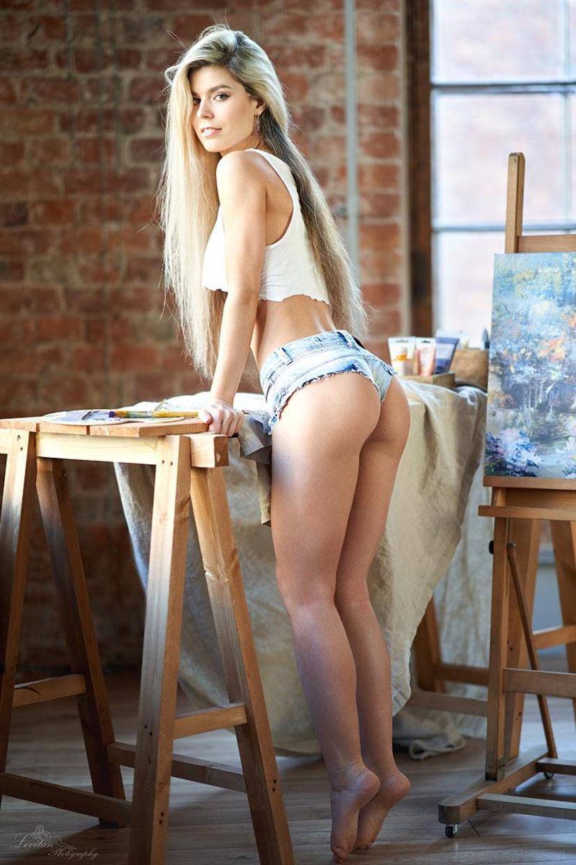 Мария Машина учится рисовать / фото 12