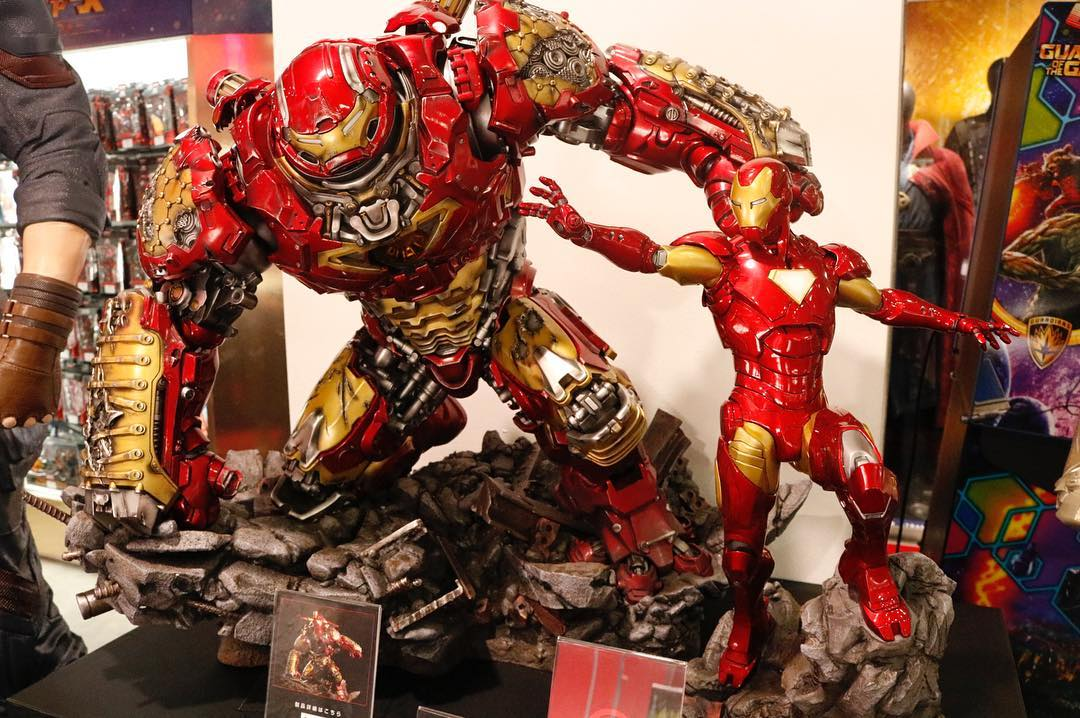 Avengers : Age of Ultron - HulkBuster Premium Collective 1/4 Statue (Hot Toys) 9z0zzudr_o