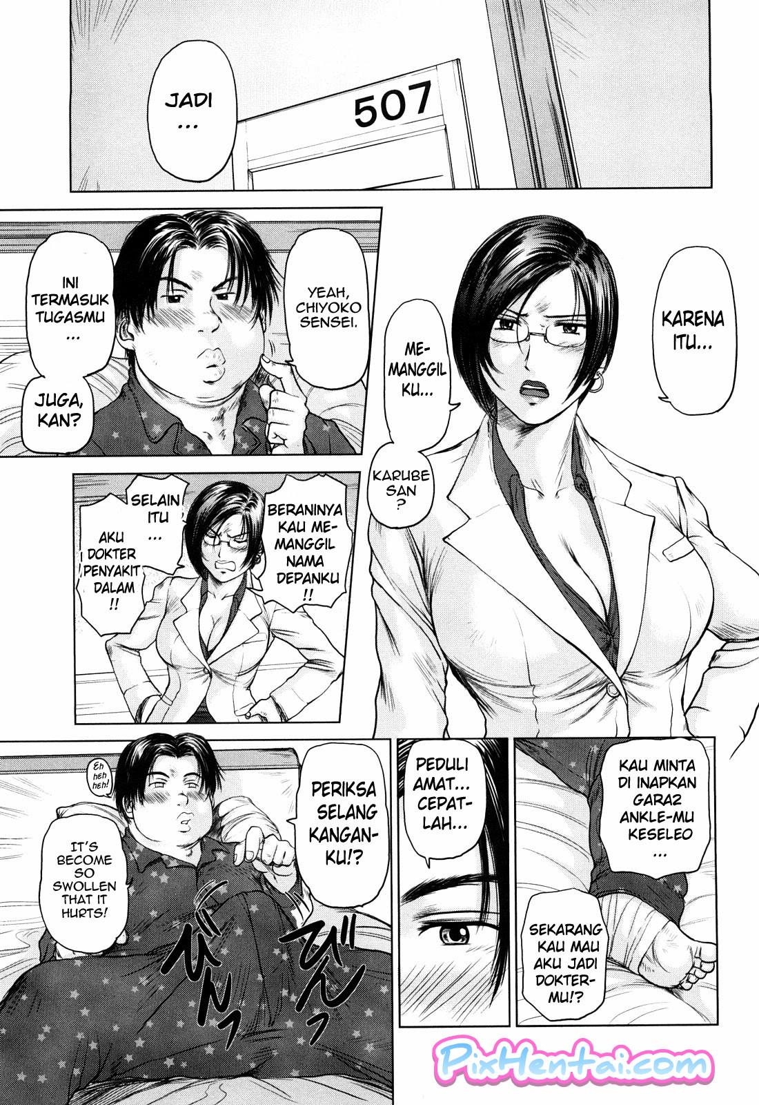Komik Hentai Suster Montok tak Berdaya Dientot Pasien Manga Sex Porn Doujin XXX Bokep 05