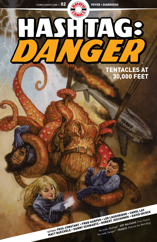 Hashtag - Danger #1-4 (2019)