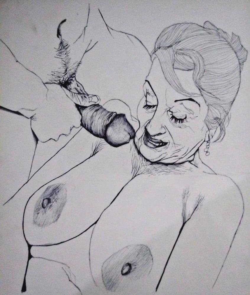 Bisex granny porn-9236