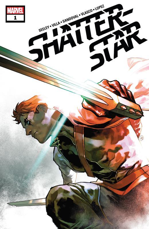 Shatterstar #1-5 (2018-2019) Complete