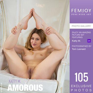 [Femjoy.com] 2020.11.21 Katty M - Amorous [Glamour] [5000x3334, 105 photos]