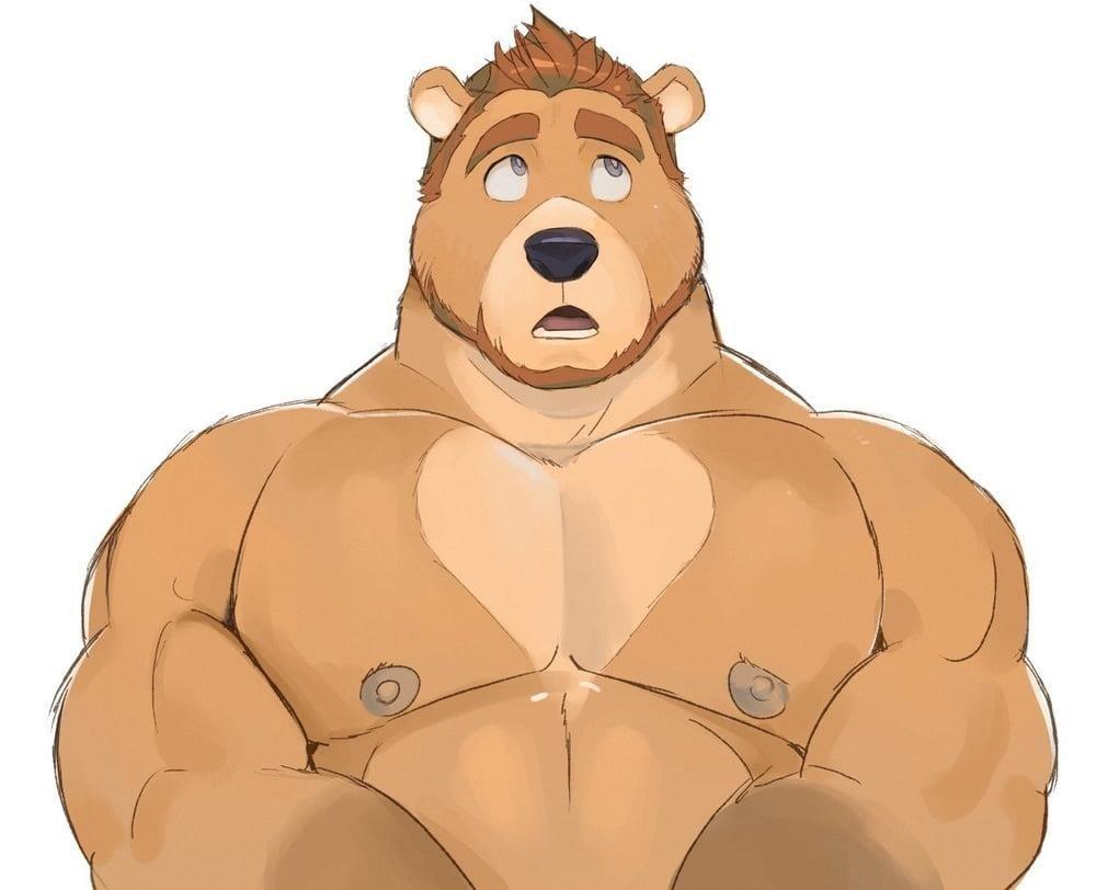Gay feet bear-2608