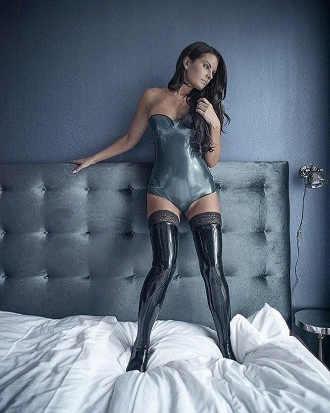 Latex stockings porn pics-3869